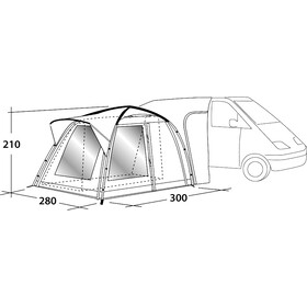Outwell Milestone Pro Tall Tent